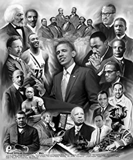 Great African American Men by Wishum Gregory 8x10 Print Poster