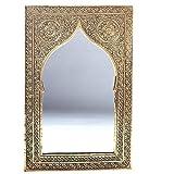 albena Marokko Galerie 23-100 Casa Espejo marroquí Oriental 41 x 27 cm latón Oro