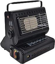 Qin Estufa portátil de calefacción de Gas pequeña al Aire Libre, Calentador de Cassette de Gas licuado/Gas butano, Estufa de Pesca de Invierno Estufa de Gas para Calentar Tiendas de campaña