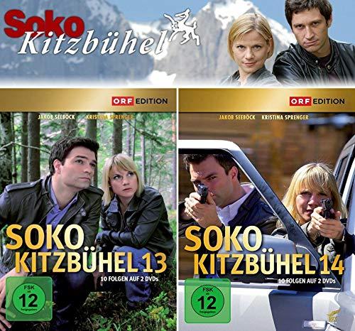 SOKO Kitzbühel - Box 13+14 (4 DVDs)
