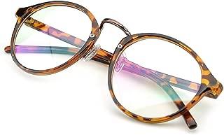 Vintage Inspired Eyeglasses Frame Round Circle Clear Lens Glasses