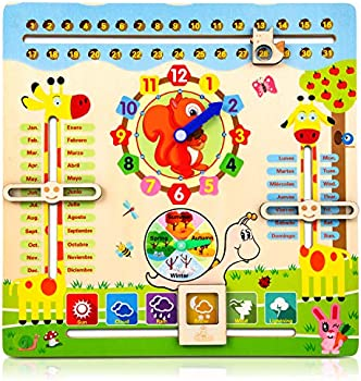 Foayex Clock Learning Educational Toys