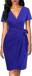 Best blue wrap dress Reviews