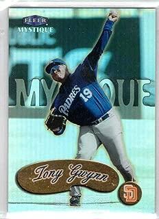 Baseball MLB 1999 Mystique Gold #68 Tony Gwynn Padres