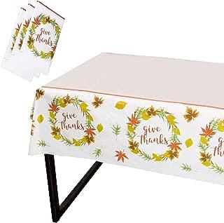 Best fall plastic tablecloths Reviews