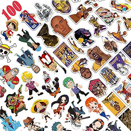 Adesivi 100 Pezzi Vinile Impermeabili aesthetic Adesivo Stickers per Auto Moto Casco PC Phone MacBook Chitarra Skateboard Bagagli adesivi ,Decalcomania Regalo per Bambini Adolescenti