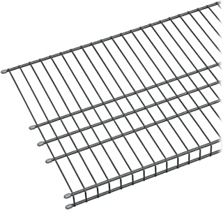 ClosetMaid 73571 MaxLoad 6ft. by 16in. Garage Wire Shelf, Satin Chrome, 6-Feet by 16-Inch