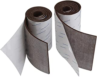 Shintop Felt Tape DIY Adhesive Heavy Duty Felt Strip Roll Cut into Any Shape to Protect Your Hardwood And Laminate Flooring (Brown)