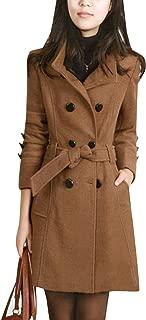 brown trench coat women's