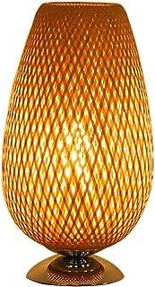 Mei Xu-@ Bamboo Table Lamp, Modern Minimalist Living Room Bedroom Lamp In Southeast Asia, Hotel Bar Bamboo Decorative Ligh...