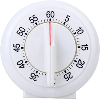 Merssavo 60 Minutes Kitchen Timer Cooking Ring Mechanical Counter WIND-UP Alarm Clock