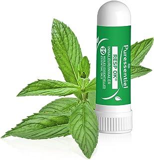 Puressentiel - Resp OK - Inhaleur Respiratoire - Aux 19 huiles essentielles bio - Menthol et camphre naturels - Aide à res...