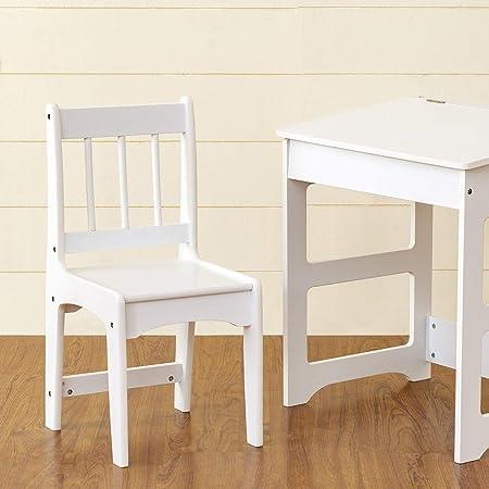 Home Centre Blake Kids Chair - White