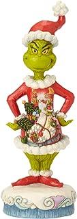 Enesco Dr. Seuss The Grinch by Jim Shore Santa Scene Figurine, 10.83