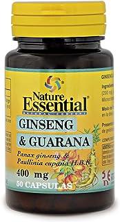Ginseng & guarana 400 mg. 50 capsulas