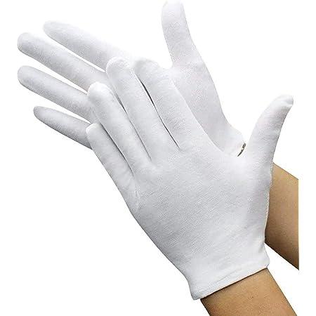 WHITE GLOVES 100/% COTTON MACHINE WASHABLE SNOOKER REFEREE ELASTICATED LARGE