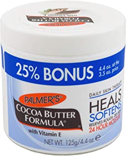 Palmers Cocoa Butter Jar With Vitamin E 4.4 Ounce Bonus (Pack of 6)
