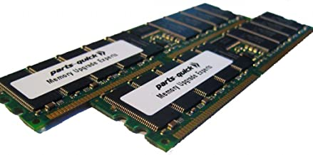 4GB 2 X 2GB DDR Memory Upgrade for Sun Fire V240 PC2700 Registered 333 MHz 184 pin SDRAM ECC DIMM RAM (PARTS-QUICK BRAND)