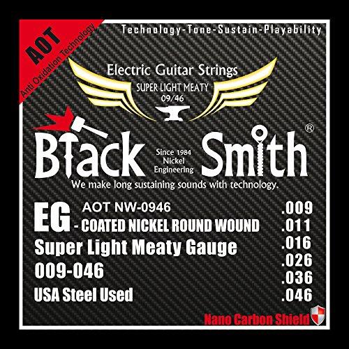 Black Smith 9-46 Coated Jeu de Cordes pour Guitare électrique