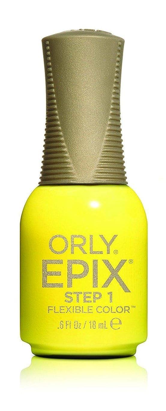 マーカー戦艦ピストルOrly Epix Flexible Color Lacquer - Road Trippin - 0.6oz / 18ml
