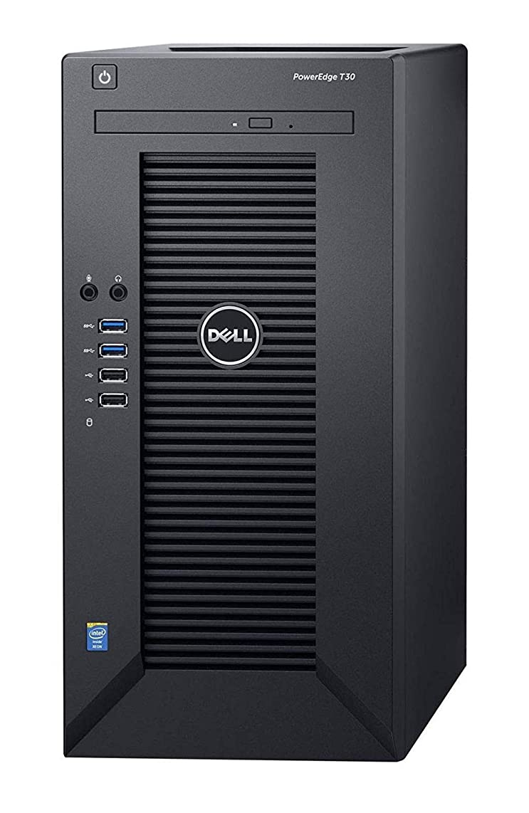 2019 Flagship Dell PowerEdge T30 Business Mini Tower Server System, Intel Quad-Core Xeon E3-1225 v5 up to 3.4GHz 8GB DDR4 512GB SSD 1TB 7200rpm HDD DVD-RW HDMI USB 3.0 No Operating System