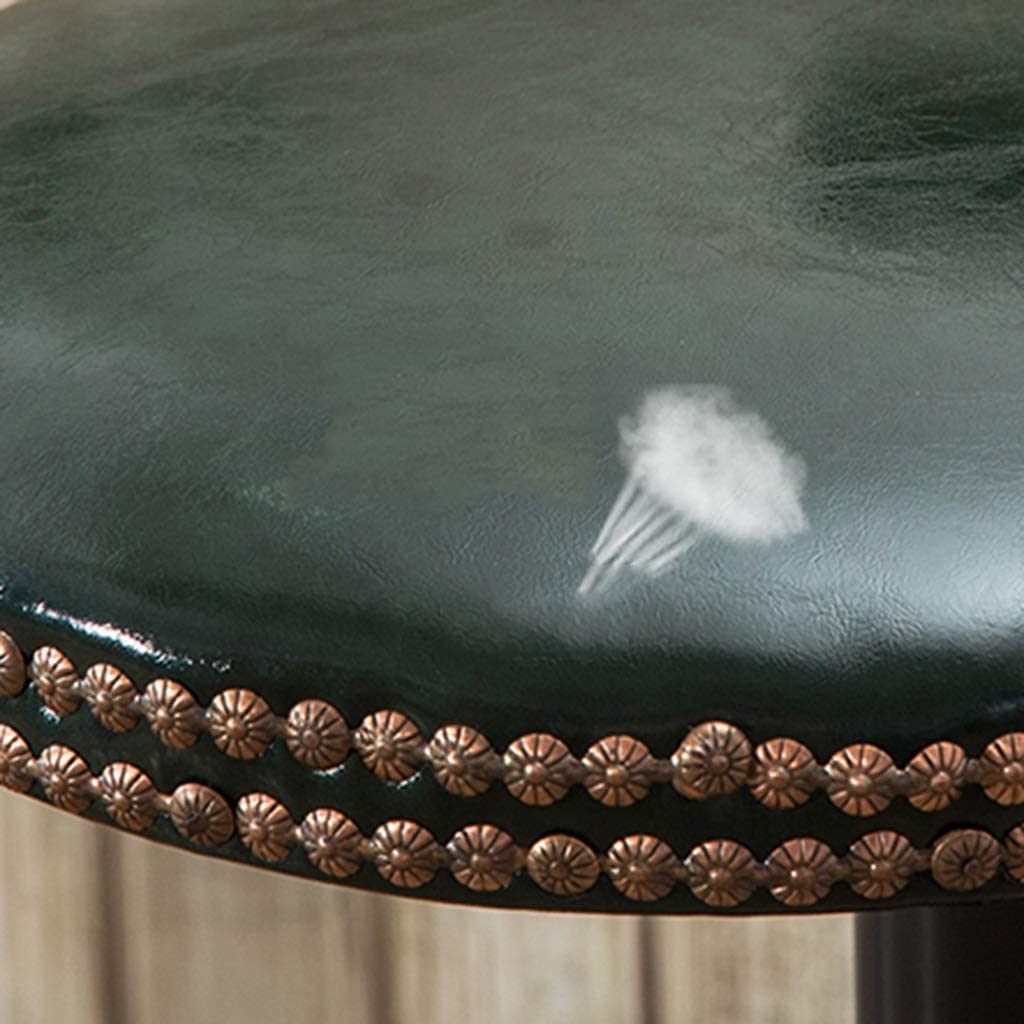 Tabouret de bar de petit déjeuner Tabouret de bar, télésiège simple, bureau d'hôtel accueil café dossier chaise haute (Couleur : H) H