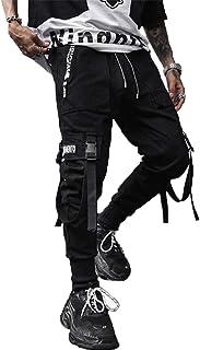 XYXIONGMAO Men's Jogger Pants Techwear Hip Hop Harem Pants Streetwear Tactical Track Pants