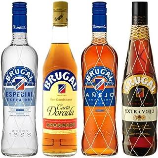 Brugal Rum Mischpaket 4 x 0,7 l