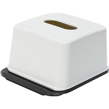 ライクイット ( like-it ) ティッシュ ケース ハーフティッシュボックス ホワイト RP-04