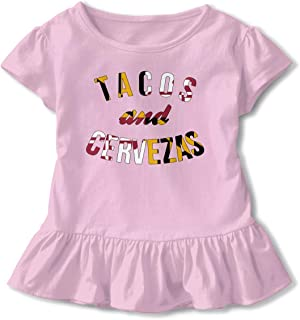 Tacos and Cervezas Toddler Baby Clothes Bodysuit Sleeveless Summer Novelty Funny Gift for Baby