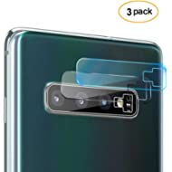 LEDitBe Compatible Galaxy S10 Plus/S10 Camera Lens Protector, [3 Pack] Ultra Thin Transparent...