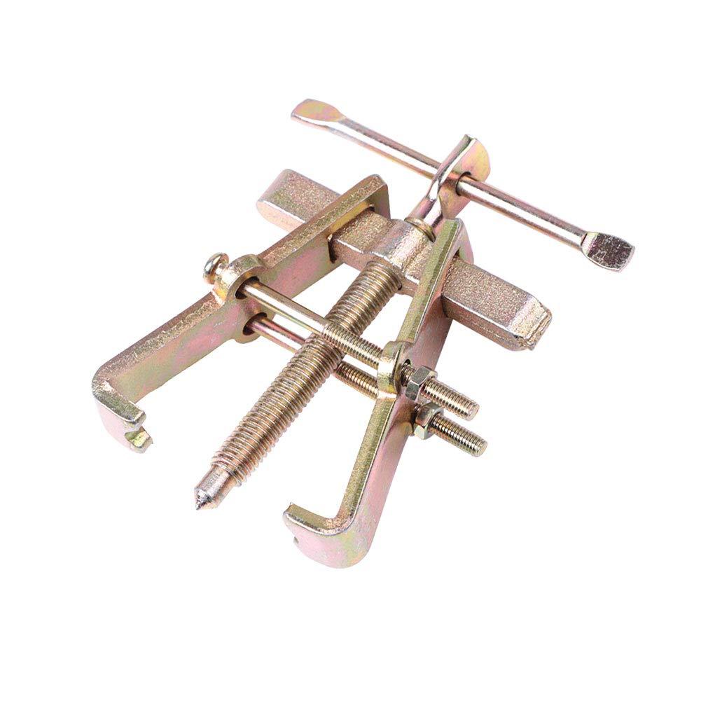 RUNMIND extractor de rodamientos de dos mandíbulas de 3 pulgadas, herramienta de extracción de engranajes de rodamiento de acero al carbono: Amazon.es: Coche y moto