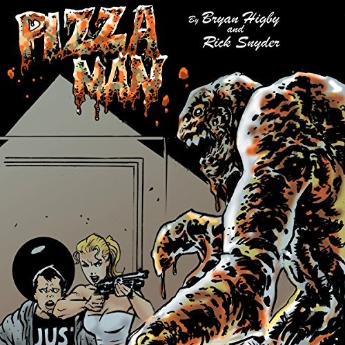 Pizza Man audiobook cover art