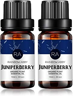 2-Pack Juniper Berry Essential Oils, 100% Pure, Undiluted, Therapeutic Grade Juniper Berry Oil - 2x10 mL