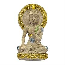 Buddha Statue Thailand Buddha Sculpture Sandstone Buddhism Fengshui Figurine Meditation Home Decor