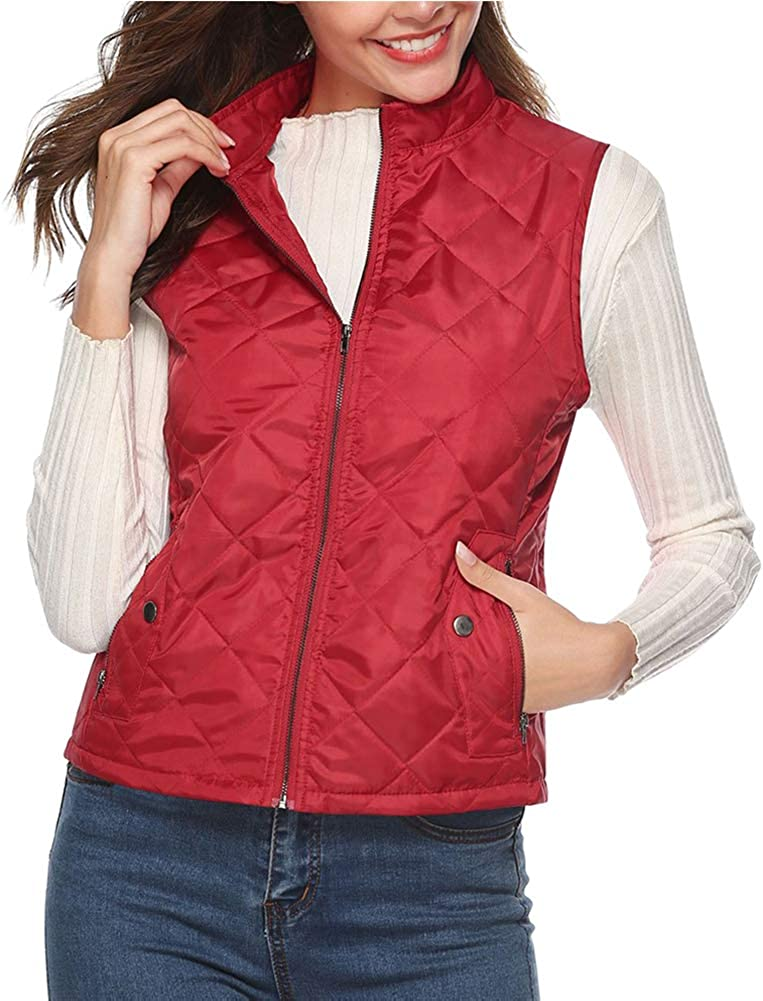 Yudesun Womens Jacket Max 57% OFF Quantity limited Outerwear Vests Sleeveless Qui Winter Down