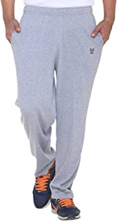 VIMAL JONNEY Men's Grey Cotton Trackpants-D10MELANGE-P