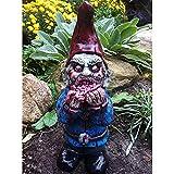 zhaoying GNOME Statue, Harz Zombie GNOME Ornament Einzigartige langlebige umweltfreundliche Horror-Serie für Outdoor Patio Garden Ausgezeichnete Garten Ornament Yard Art - Lustige Rasen Statue