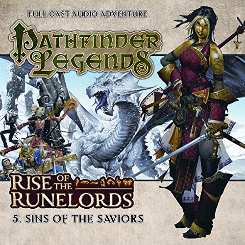 Pathfinder Legends - Rise of the Runelords 1.5 Sins of the Saviours audiobook cover art