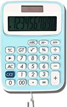 $21 » WXIANG Calculator Desktop Student Study Scientific Calculators Solar Dual Power Portable Small Computer with Lanyard Stand...