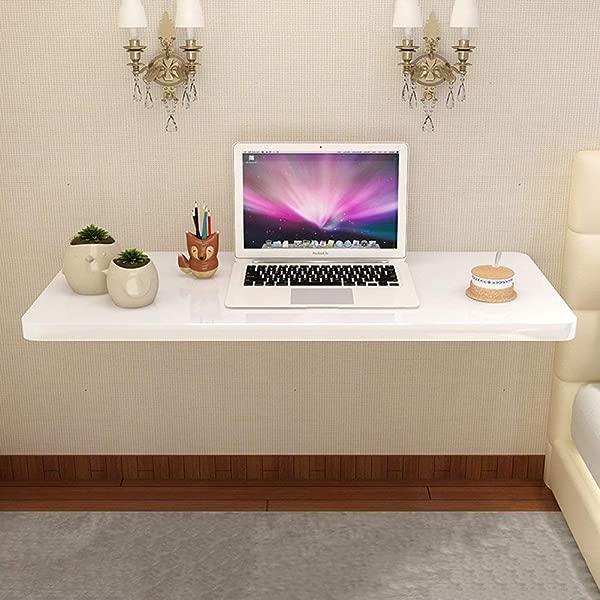 XNYY 婴儿折叠落叶桌餐桌节省空间折叠式折叠桌家用笔记本电脑壁挂式写字桌折叠桌餐厅彩色木质彩色尺寸 10040厘米