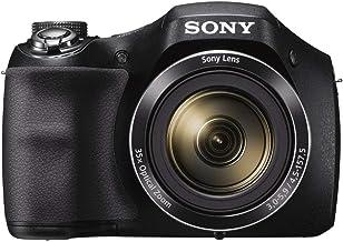 Sony DSC-H300/BM, 20.1MP alto punto de zoom y cámara de disparo, zoom 35x, negra (reformada certificada)