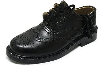 Mens Ghillie Brogue Formal Leather Kilt Shoes