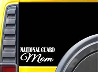 National Guard Mom k506 8 inch military soldier decal sticker