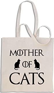 Mother of Cats - Shopping bag di Cotone
