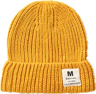 LLmoway Women Men Skull Hat Winter Cuff Beanie Soft Warm Knit Cap Watch Hat