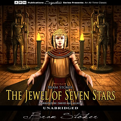 The Jewel of Seven Stars audiobook cover art