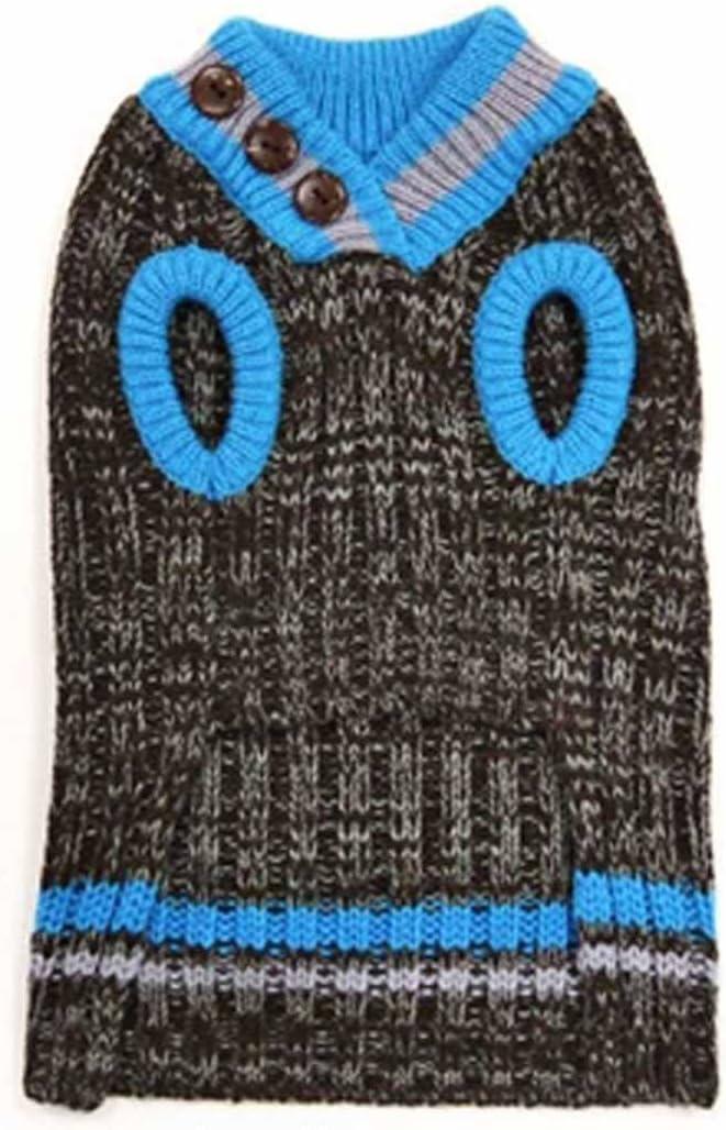 discount Dogo City V-Neck Dog Blue safety 4XL Sweater -