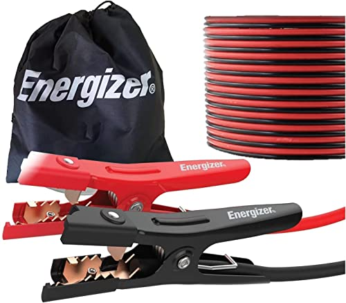 Energizer Jumper Cables for Car Battery, Heavy Duty Automotive Booster Cables for Jump Starting Dead or Weak Batterie...