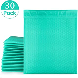 30 Pcs Poly Bubble Mailers #5 10.5 x 16 Inch, LANIAKEA Self Seal Packaging Supplies Bubble Padded Envelopes - Teal